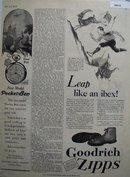 Goodrich Zipps Athletic Shoes 1928 Ad