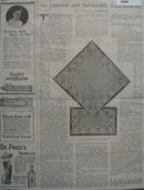 Shop By Mail And Article Needlecraft 1921 Ad