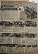 Sears Craftsman Mechanics Tool sets 1936 Ad
