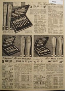 Sears Original Rogers Silverplate 1938 Ad