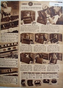 Sears Don Gray Billfolds And Belts 1938 Ad