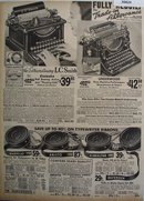 Sears L.C. Smith And Underwood Typewriter 1936 Ad