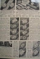 Sears 7 Jewel Watches For Men, Women And Boys 1938 Ad