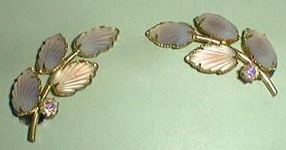 West Germany Clip Earrings