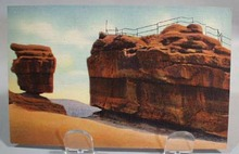 Garden of the Gods Balanced & Steamboat rocks postcard