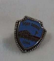 Fort Dodge Iowa Tie Tack