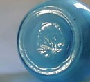Old Blue Glass Shaker Beaumont Glass