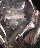 Val St Lambert Boy Scout Paperweight
