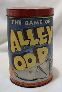 Ally Oop Game, near mint