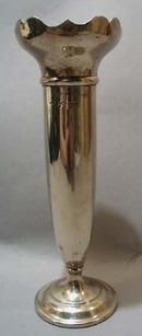 Silver Unusual Vase