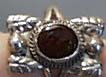 Sterling Silver Hand crafted Ring with Opal
