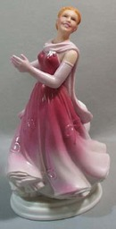 Ginger Rogers as Dinah Barkley Figurine