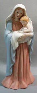 Madonna and Child Figurine