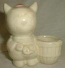 Porky Pig Pottery Planter