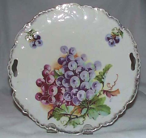 Open handled grape tray, Germany