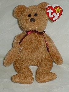 TY Beanie Baby, Curly Bear