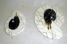 Trivits Spatterware Artist Pallet MODERN 50's