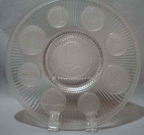 1964 Coin Glass Imperial Glass Crystal Plate