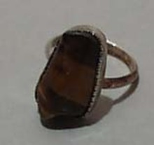 Tiger Eye & Sterling Silver Ring