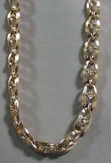Crystal & Goldtone Necklace