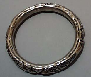 Bangle Bracelet Silver Tone