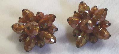 Austria  Glass Earrings