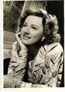 Hand Signed photo Irene Dunne