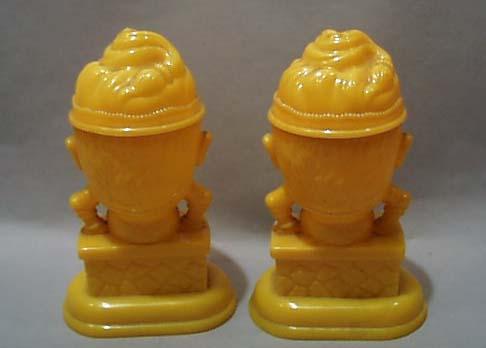 Humpty Dumpty Celluloid Salt & Pepper Shakers