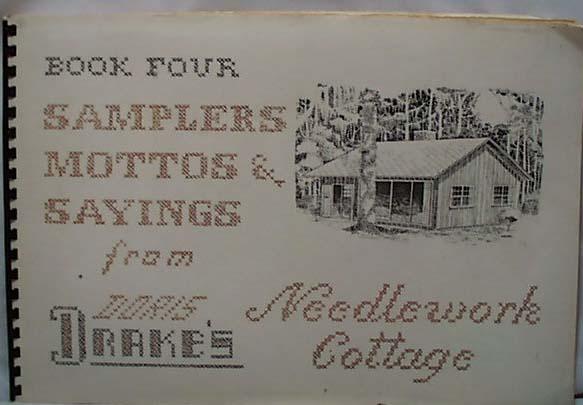 Drakes Needlework Cottage Book 3 Sampler