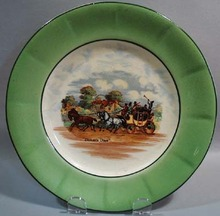 Empire Ware Dickens Days Plate