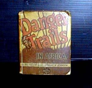 Danger Trails, in Africa, Big Little Book