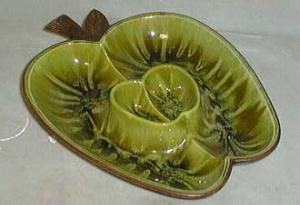 Treasure Craft, CA., #380 Apple dip tray