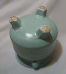Camark Artware Pottery Vase Blue Green