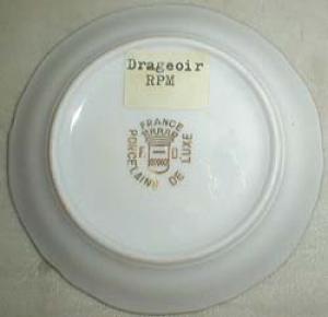 RPM Drageoir France Miniature Plate