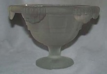 Satin Glass bowl, Unique design