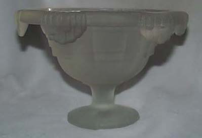 Satin Glass bowl, Unique design