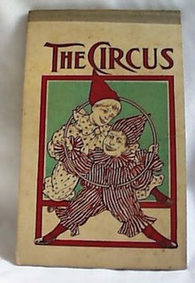 Pre 1900 Writing tablet titled THE CIRCUS