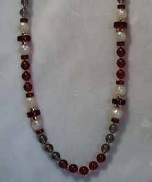 Monet  Bead Necklace