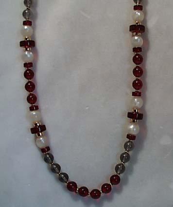 Monet  Bead Necklace