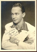 Photo & Autograph Hughie Hendrixson