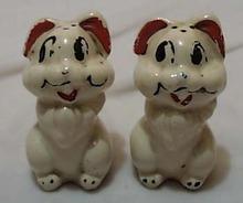 Walt Disney Dog Salt & Pepper  old