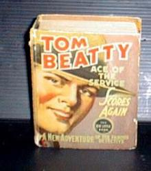 Tom Beatty Big little book, detective story