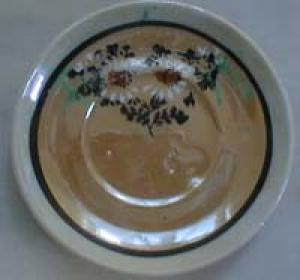Miniature Child's Iridized Cups & Saucers