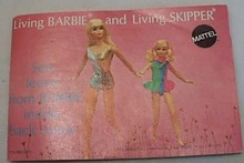 Living Barbie & Skipper Catalog 32 pgs 1970