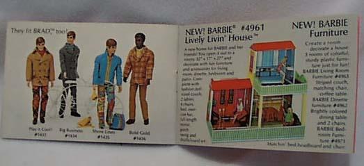Living Barbie & Skipper Catalog 32 pgs 1970