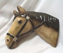 Chalk Arabian Horse head,