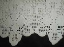 Hand Crocheted Cotton Bedsheet