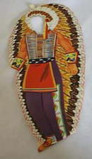 Hopi Indian paper dolls & clothes