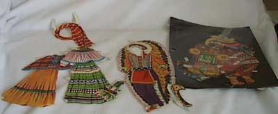 Hopi Indian paper dolls & clothes