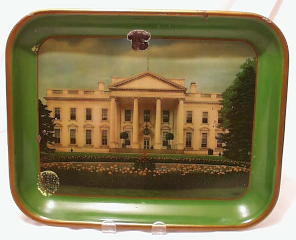 White House Tin Tray , The first made